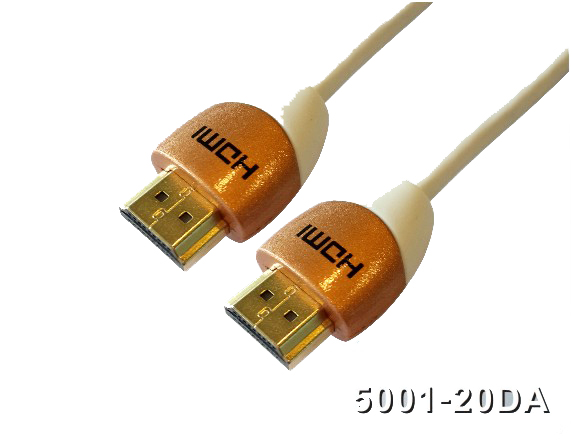 160218. Double Color Molding HDMI
